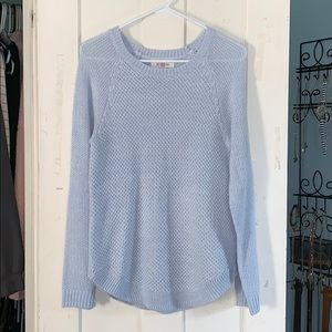 Baby blue perfect pullover knit sweater